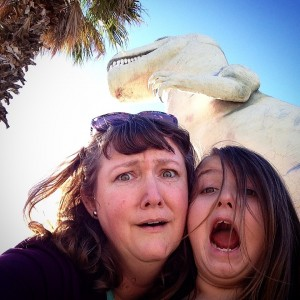 My son and I are HILARIOUS. (Cabazon, CA)
