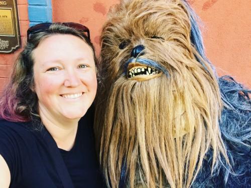 Chewbacca teaches me a Life Lesson.